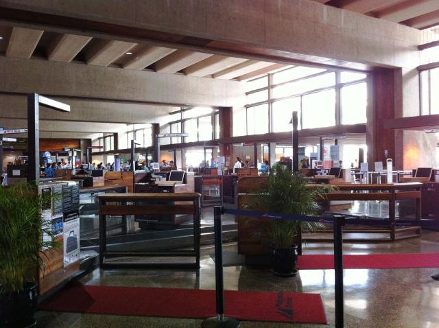 ダニエル・K・イノウエ国際空港風景